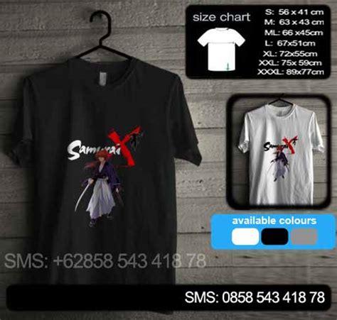 Samurai X 02 by Baju Kaos Samurai X 02 Baju Kaos Distro Murah