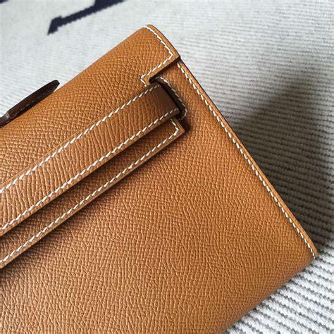 Hermes Lindy Size 31cm luxury hermes ck37 gold epsom leather cut clutch bag