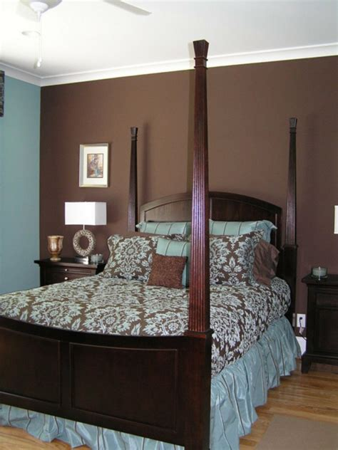 brown and blue bedrooms wall color shades of brown put you on a universal color