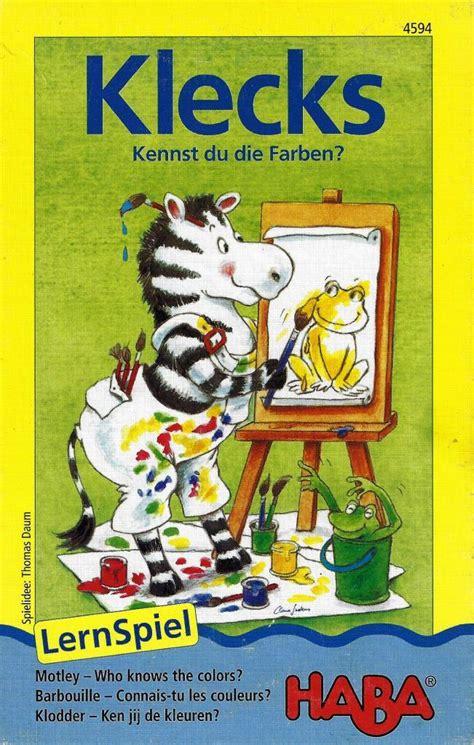Farben F R Kleinkinder 4542 by Haba 4594 Klecks Decotoys