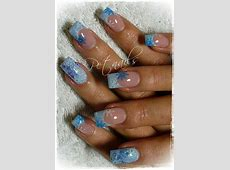 Nail art | Nails art and design | Nails, Nail Art, Frozen ... French Tip Nail Designs With Glitter
