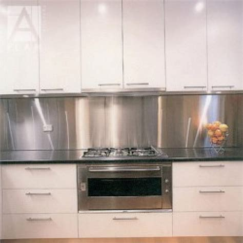 Kitchen Tiles Ideas For Splashbacks Stainless Steel Splashback Alltrade Stainless Steel