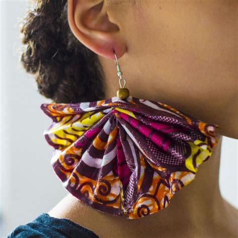 how to make ankara jewelry best 25 earrings ideas on