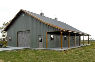 Rv Garage Apartment missouri pole barns pole barn builders lester buildings
