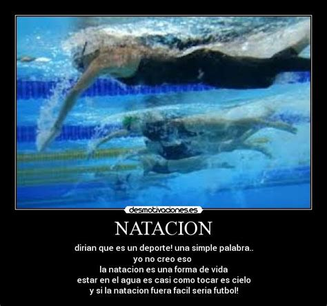 imagenes motivacionales de natacion im 225 genes y carteles de natacion pag 9 desmotivaciones