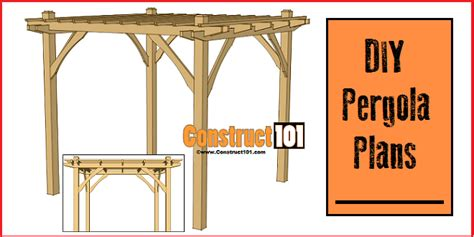 10x10 pergola plans pdf construct101