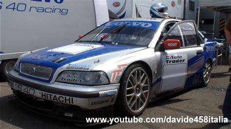 epic volvo  racing btcc   track pure sound youtube