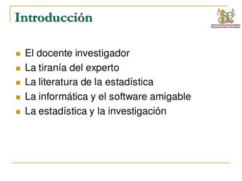estadstica para la investigacin 8415452764 estadistica para la investigaci 243 n sesi 243 n1