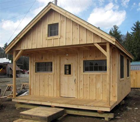 chalet home plans vt 16x20 vermont cottage c available as plans kits 2