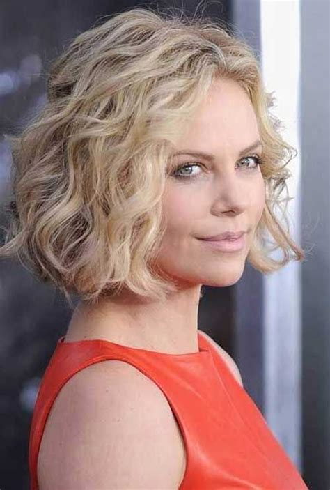 diamond face curly hairstyles short wavy blonde bob cut jpg 500 215 742 pixels misc