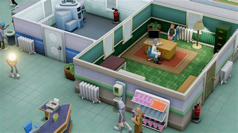 More From 2 by анонсирована Two Point Hospital от создателей игры Theme
