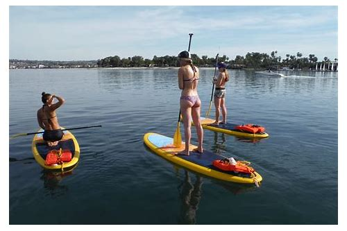paddle boarding coupons san diego