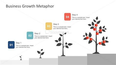 business tree diagram free 4 step tree diagram powerpoint slidemodel