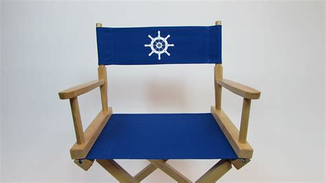 themed chair covers custom size marine themed replacement directors chair cover