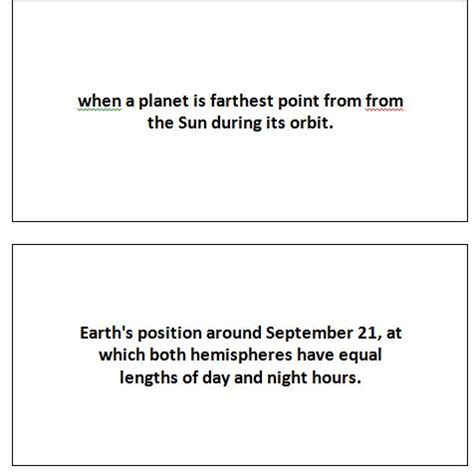 flash card template publisher astronomy flash cards 187 template