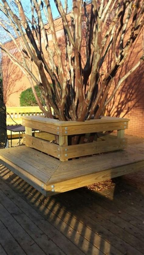 how to build a bench around a tree trunk how to build a bench around a tree diy projects for everyone