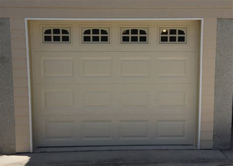 9 By 7 Garage Door 9x7 Garage Door 9x7 Therma Tech T128 Almond After Garage Door Screen Click To Zoom 71675a New
