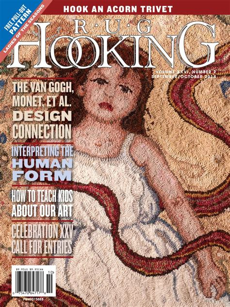 rug hooking magazine rug hooking magazine september october 2014 free us shipping