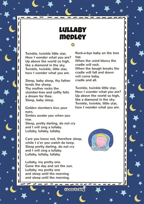 row your boat lullaby lullaby medley kids video song with free lyrics