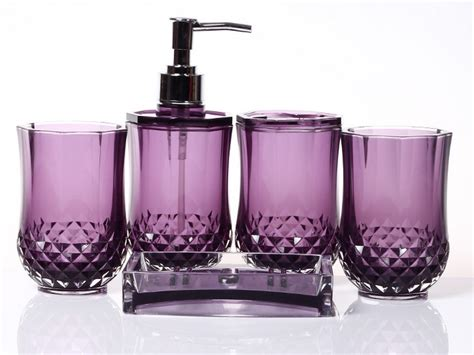 purple bathroom accessories set purple bathroom accessories uk home design ideas
