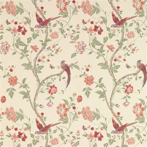 laura ashley wallpaper flamingos wall goingdecor