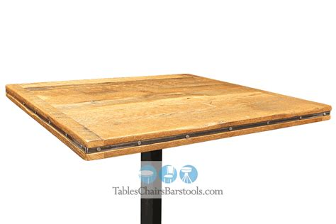 24 quot square reclaimed barn wood restaurant table top