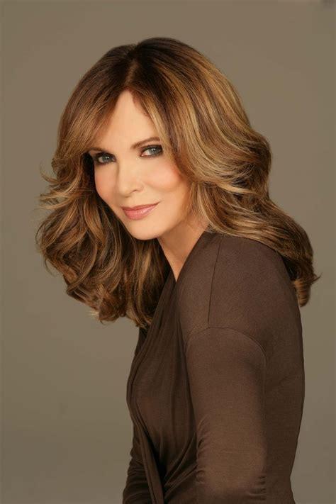 hairstyle pics for older women like jacklyn smith shoulder length hairstyle for older women over 60 jaclyn