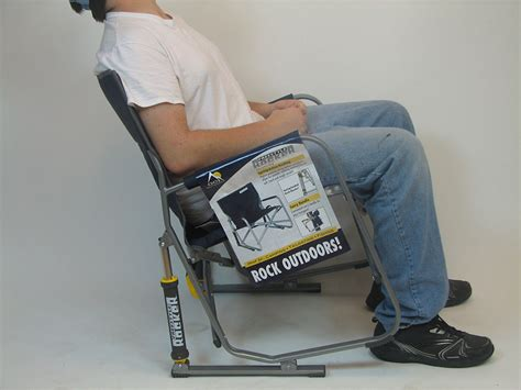 freestyle rocker rocking camping chair  gci outdoor  ebay