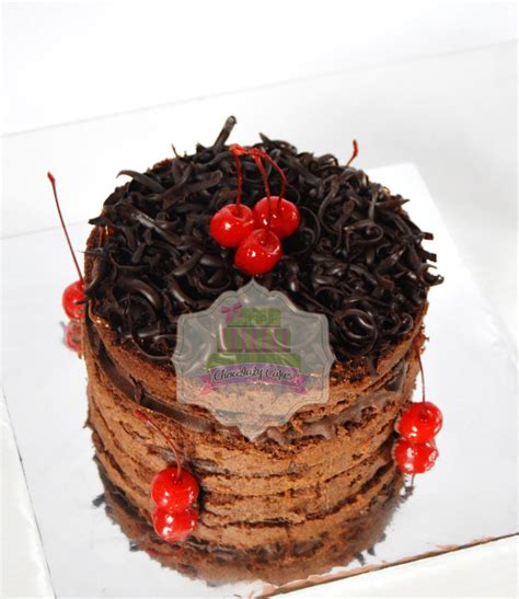 Coffee Toffee Pamulang nutella chocolate cake for dinda