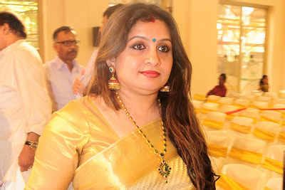 trivandrum events: suchithra spotted in her ethnic best at