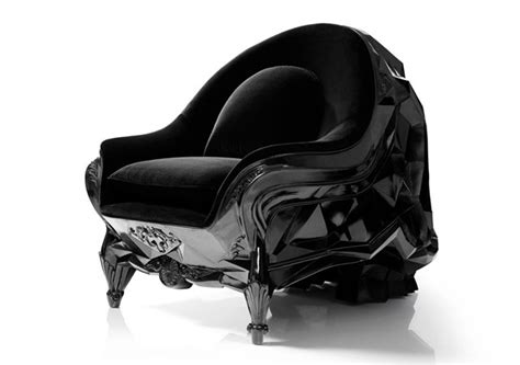 skull armchair it s still no bone throne the angular skull armchair