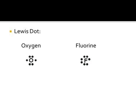 lewis dot diagram of fluorine introduction to chemicals and safety ppt