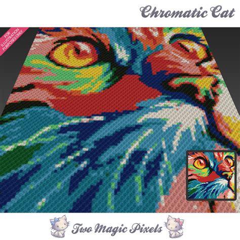 cat blanket pattern chromatic cat crochet blanket pattern knitting cross