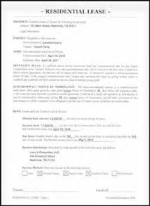 On Lease A Virginia Rental Lease Agreement For Residential