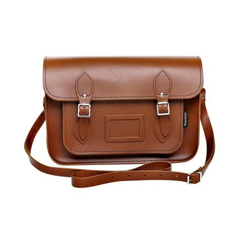 Handcrafted Leather Bags - zatchels womens handcrafted leather satchel bag