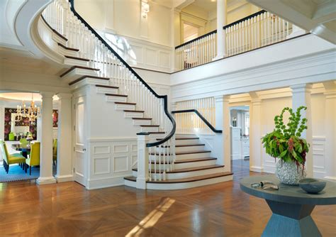 main entrance hall design entry halls main stairs traditional staircase boston by jan gleysteen architects inc