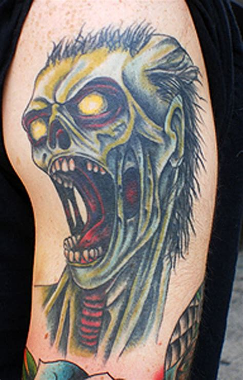 zombie tattoo ink zombie tattoos designs ideas and meaning tattoos for you