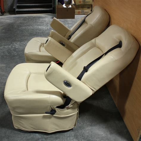 Flexsteel Rv Captains Chairs Parts by Rv Furniture Used Leather Flexsteel Captain Chair Set For