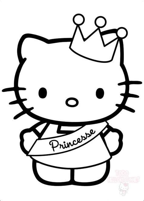 hello kitty dear daniel coloring pages dibujos para colorear de hello kitty todo hello kitty