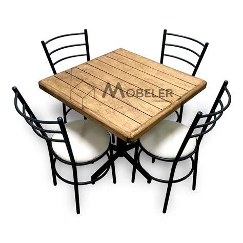 sillas y mesas para cafeteria mesa de madera sillas para restaurante bar cafeter 237 a