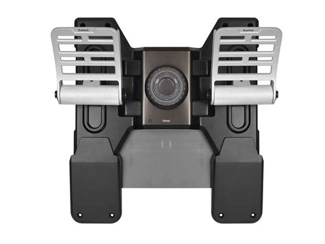 Saitek Pro Flight Rudder Pedals saitek pro flight combat rudder pedals with toe brakes the gamesmen