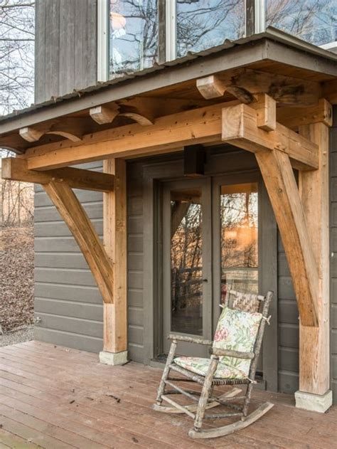 timber frame home shed porch timber frame porch ideas pictures remodel and decor