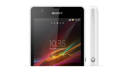 Sony Xperia Zr xperia zr with opticontras screen