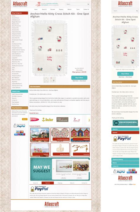 ebay listing template design how atlascraft benefited with a brand new ebay store