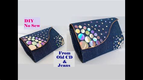 How To Make A Clutch Purse Out Of Paper - how to make clutch purse with cd no sew clutch