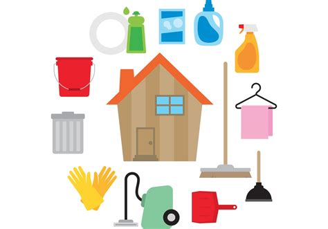 to clean house clean house vector download free vector art stock