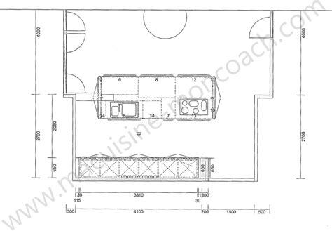 profondeur standard plan de travail cuisine enchanteur dimension plan de travail cuisine et profondeur