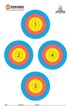 printable rat targets printable norway rat target targets pinterest