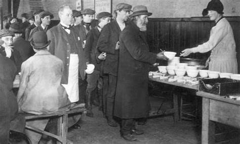 Soup Kitchen For The Poor by Recessions A History Business The Guardian