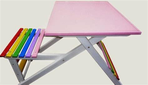 Meja Lipat Sedang model meja lipat untuk belajar anak di provokantor